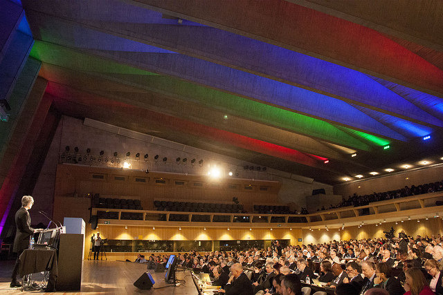 YL2015 Openings UNESCO Paris - Invited governmental, scientif leaders from the optics and photonics field.