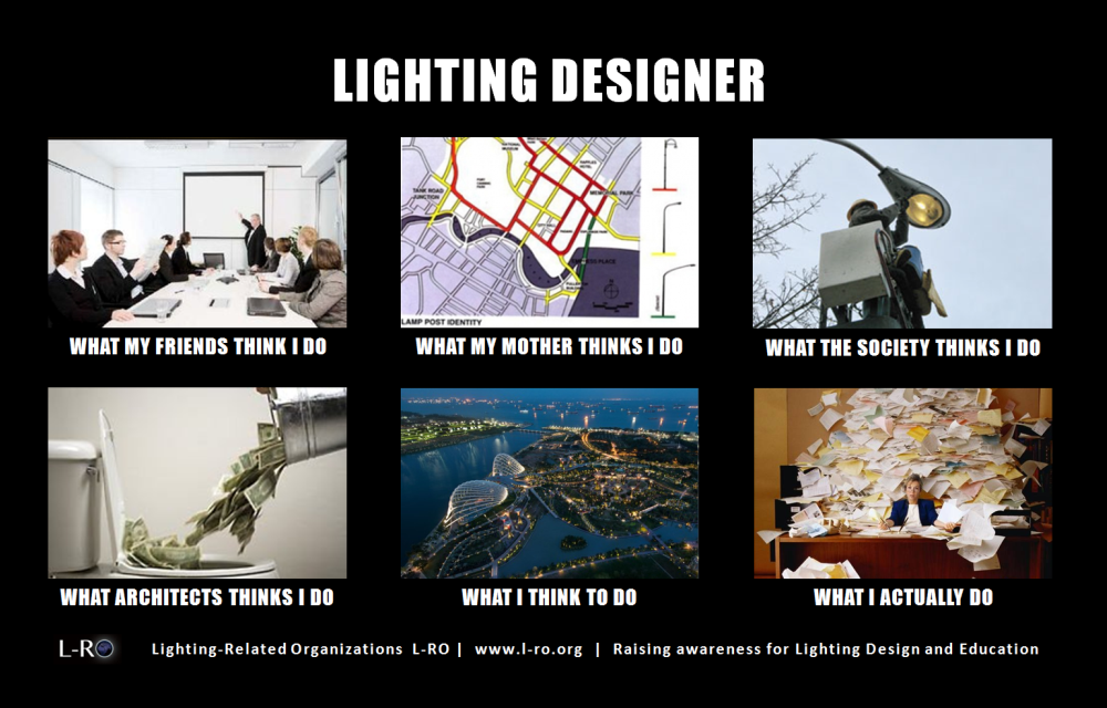 The Lighting Designer Profession - What does a Lighting Designer do?