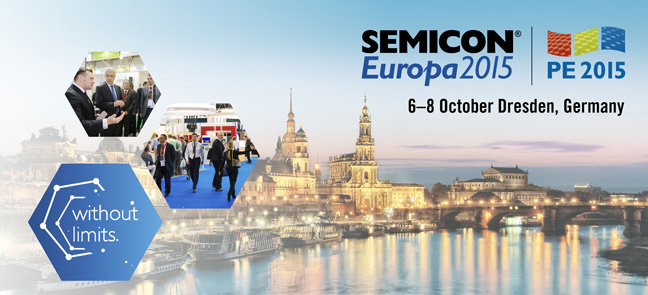 Semicon Europe 2015 in Dresden, Germany - new opportunities in a mature industry environment.