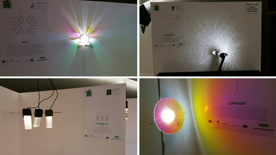 Out of Bounds Design Contest - Students Exploring Complete Freedom in Lighting Design