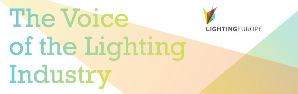 Logo LightingEurope for European Lighting Summit 2017 in Brussels