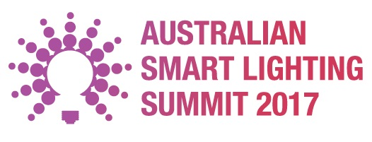 Banner image with logo of the Australian Smart Lighting Summit 2017 for use in the lighting event calendar on Lighting-Inspiration.com.