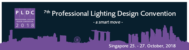 Logo image of PLDC 2018 event in Singapore
