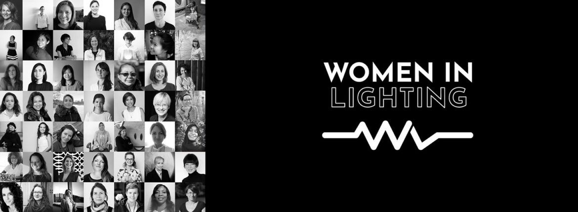 Header image for blogpost about Women in Lighting at Lighting-Inspiration.com
