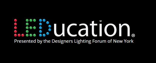 Logo of LEDucation 2020 for event listing at Lighting-Inspiration.com