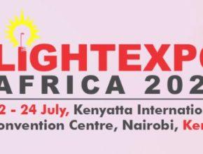 Logo of Light Expo Kenya 2020 for event listing at lighting-inspiration.com